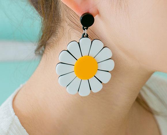 Look Like Daisy Earrings