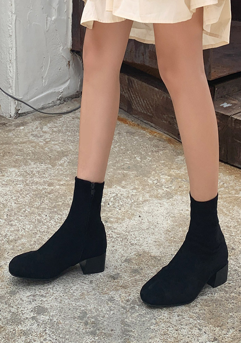 evelyn-simple-ankle-boots by chuu
